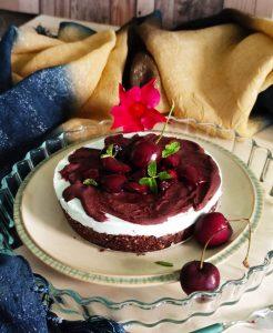 cheesecake con ciliegie